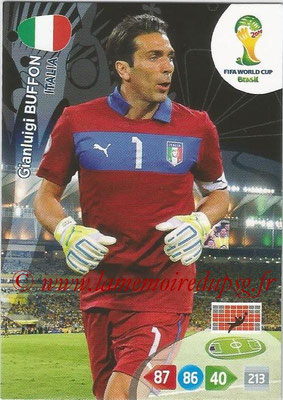2014 - Panini FIFA World Cup Brazil Adrenalyn XL - N° 209 - Gianluigi BUFFON (Italie)