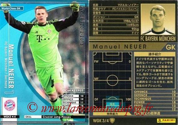 2012-13 - WCCF - N° WGK3 - Manuel NEUER (FC Bayern Munich) (World Class GK)