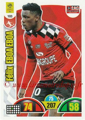 2018-19 - Panini Adrenalyn XL Ligue 1 - N° 103 - Félix EBOA EBOA (Guingamp)