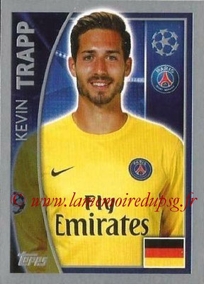 2015-16 - Topps UEFA Champions League Stickers - N° 018 - Kevin TRAPP (Paris Saint-Germain)