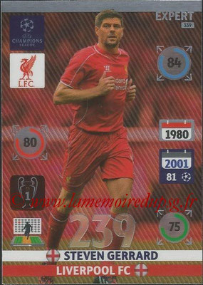 2014-15 - Adrenalyn XL champions League N° 339 - Steven GERRARD (Liverpool FC) (Expert)