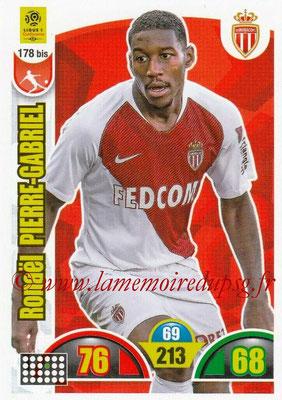 2018-19 - Panini Adrenalyn XL Ligue 1 - N° 178 bis - Ronaël PIERRE-GABRIEL (Monaco)