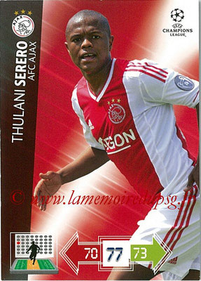 2012-13 - Adrenalyn XL champions League N° 004 - Thulani SERERO (AFC Ajax)