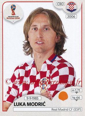 2018 - Panini FIFA World Cup Russia Stickers - N° 322 - Luka MODRIC (Croatie)