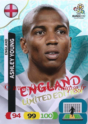 Panini Euro 2012 Cards Adrenalyn XL - N° LE17 - Ashley YOUNG (Angleterre) (Limited Edition)