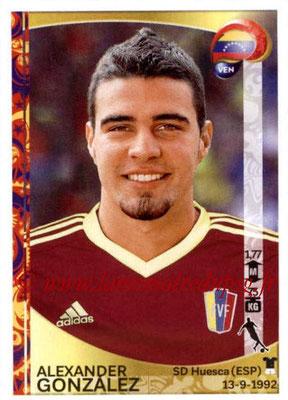 Panini Copa America Centenario USA 2016 Stickers - N° 290 - Alexander GONZALEZ (Venezuela)