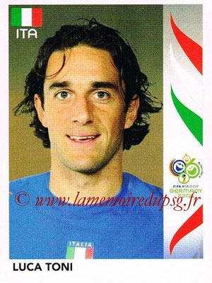 2006 - Panini FIFA World Cup Germany Stickers - N° 337 - Luca TONI (Italie)