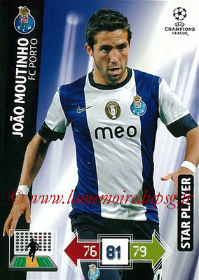 2012-13 - Adrenalyn XL champions League N° 199 - Joao MOUTINHO (FC Porto) (Star Player)
