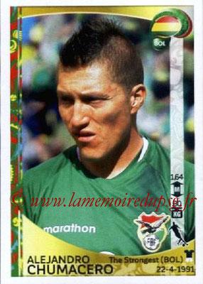 Panini Copa America Centenario USA 2016 Stickers - N° 387 - Alejandro CHUMACERO (Bolivie)