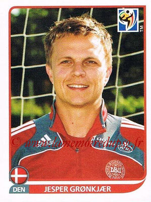 2010 - Panini FIFA World Cup South Africa Stickers - N° 368 - Jesper GRONKJAER (Danemark)