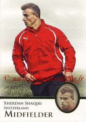 2013 - Futera World Football Unique - N° 055 - Xherdan SHAQIRI (Suisse) (Midfielder)