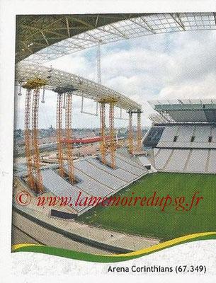 2014 - Panini FIFA World Cup Brazil Stickers - N° 030 - Arena Corinthians - Sao Paulo (1)