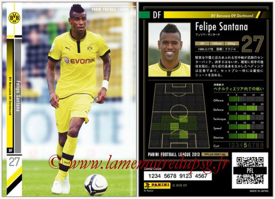 Panini Football League 2013 - PFL04 - N° 098 - Felipe SANTANA(Borussia Dortmund)