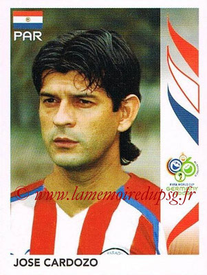 2006 - Panini FIFA World Cup Germany Stickers - N° 126 - Jose CARDOZO (Paraguay)