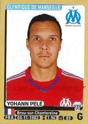 2015-16 - Panini Ligue 1 Stickers - N° 219 - Yohann PELE (Olympique de Marseille)
