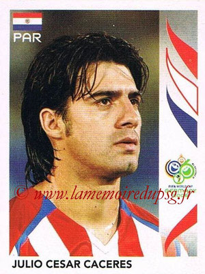 2006 - Panini FIFA World Cup Germany Stickers - N° 115 - Julio Cesar CACERES (Paraguay)