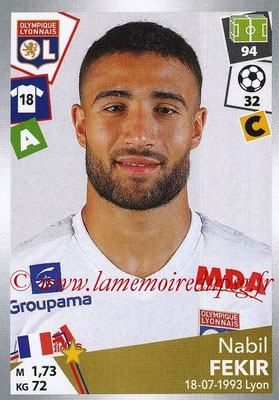 2017-18 - Panini Ligue 1 Stickers - N° 200 - Nabil FEKIR (Lyon)
