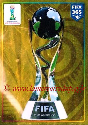 2015-16 - Panini FIFA 365 Stickers - N° 034 - FIFA U20 World Cup Trophy (FIFA U20 World Cup)