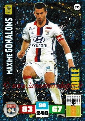 2016-17 - Panini Adrenalyn XL Ligue 1 - N° 395 - Maxime GONALONS (Lyon) (Idole)