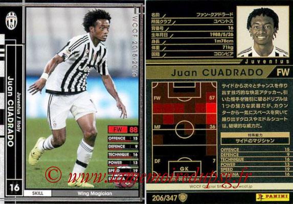 2015-16 - Panini WCCF - N° 206 - Juan CUADRADO (Juventus FC)