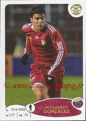 2014 - Panini Road to FIFA World Cup Brazil Stickers - N° 231 - Alexander GONZALEZ (Vénézuela)