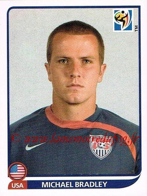 2010 - Panini FIFA World Cup South Africa Stickers - N° 210 - Michael BRADLEY (États Unis)