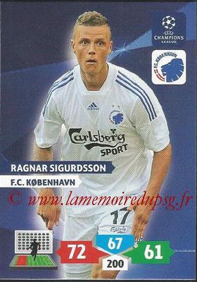 2013-14 - Adrenalyn XL champions League N° 156 - Ragnar SIGURDSSON (FC Kobenhavn)