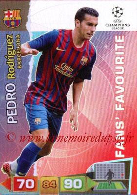 2011-12 - Panini Champions League Cards - N° 299 - Pedro RODRIGUEZ  (FC Barcelone)