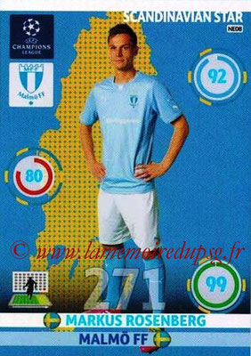 2014-15 - Adrenalyn XL champions League N° NE08 - Markus ROSENBERG (Malmö FF) (Scandinavian Star)