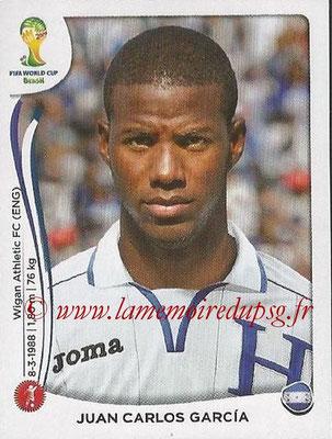 2014 - Panini FIFA World Cup Brazil Stickers - N° 399 - Juan Carlos GARCIA (Honduras)