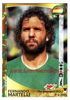 Panini Copa America Centenario USA 2016 Stickers - N° 384 - Fernando MARTELLI (Bolivie)