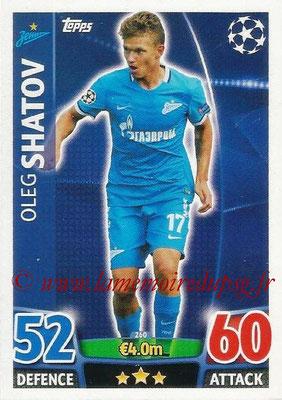 2015-16 - Topps UEFA Champions League Match Attax - N° 260 - Oleg SHATOV (FC Zenit)