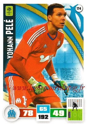 2016-17 - Panini Adrenalyn XL Ligue 1 - N° 174 - Yohann PELE (Marseille)