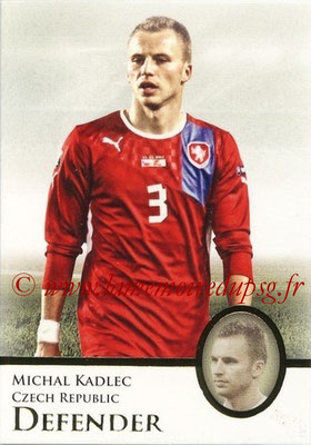 2013 - Futera World Football Unique - N° 018 - Michal KADLEC (République Tchèque) (Defender)