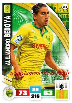 2016-17 - Panini Adrenalyn XL Ligue 1 - N° 259 - Alejandro BEDOYA (Nantes)