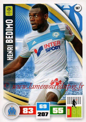 2016-17 - Panini Adrenalyn XL Ligue 1 - N° 167 - Henri BEDIMO (Marseille)