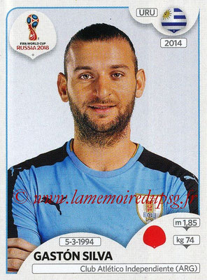 2018 - Panini FIFA World Cup Russia Stickers - N° 100 - Gaston SILVA (Uruguay)