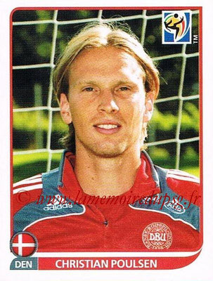 2010 - Panini FIFA World Cup South Africa Stickers - N° 361 - Christian POULSEN (Danemark)