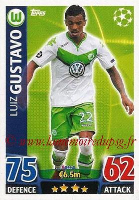 2015-16 - Topps UEFA Champions League Match Attax - N° 117 - Luiz GUSTAVO (VFL Wolfsburg)