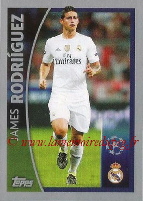 2015-16 - Topps UEFA Champions League Stickers - N° 576 - James RODRIGUEZ (Real Madrid CF) (Player to Watch)