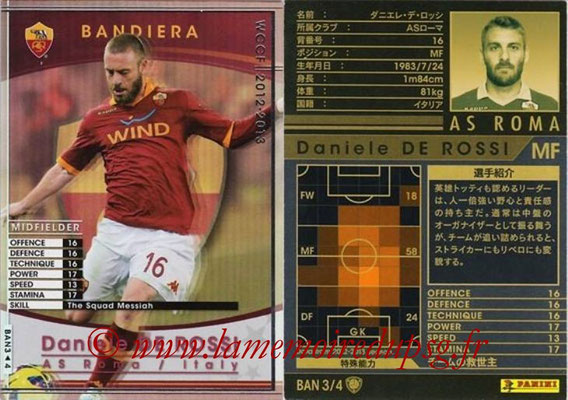2012-13 - WCCF - N° BAN3 - Daniele DE ROSSI (AS Roma) (Bandiera)