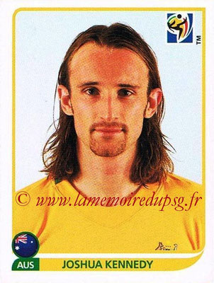 2010 - Panini FIFA World Cup South Africa Stickers - N° 294 - Joshua KENNEDY (Australie)