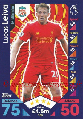 2016-17 - Topps Match Attax Premier League - N° 153