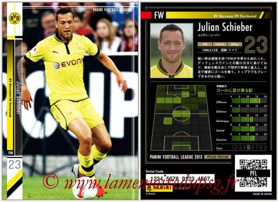 Panini Football League 2013 - PFL02 - N° 104 - Julian Schieber ( BV Borussia 09 Dortmund )