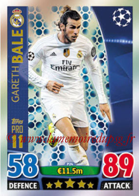 2015-16 - Topps UEFA Champions League Match Attax - N° P24 - Gareth BALE (Real Madrid CF) (Pro 11)