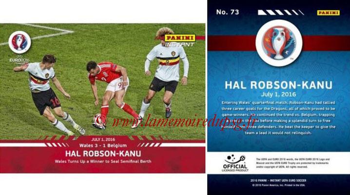 Panini Instant Euro 2016 - N° 073 - Hal ROBSON-KANU