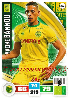 2016-17 - Panini Adrenalyn XL Ligue 1 - N° 262 - Yacine BAMMOU (Nantes)