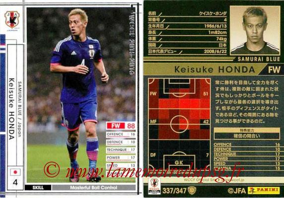 2015-16 - Panini WCCF - N° 337 - Keisuke HONDA (Japon)