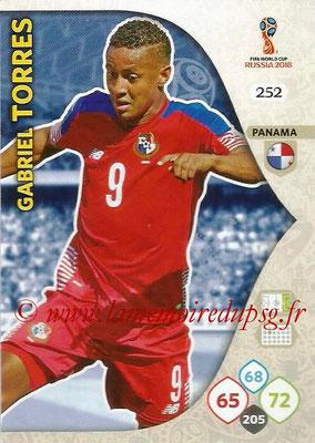 2018 - Panini FIFA World Cup Russia Adrenalyn XL - N° 252 - Gabriel TORRES (Panama)