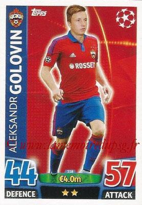 2015-16 - Topps UEFA Champions League Match Attax - N° 358 - Aleksandr GOLOVIN (CSKA Moscou)